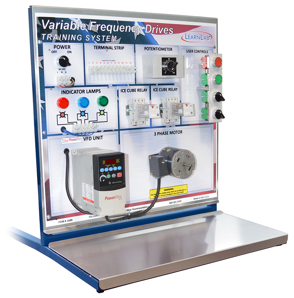 Allen Bradley VFD Training System | LearnLab Vocational Training